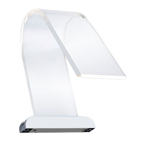 Curved Acrylic LED Over Mirror Light